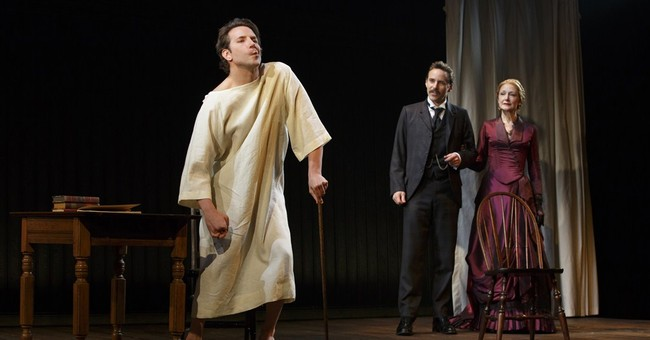 Review: Bradley Cooper terrific in 'Elephant Man'